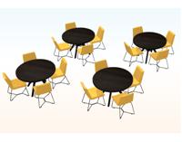 Mesas de Cafeteria